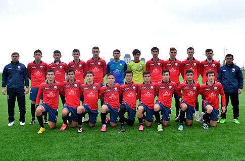 U-19 Türkiyədə 2-ci oyununu keçirdi