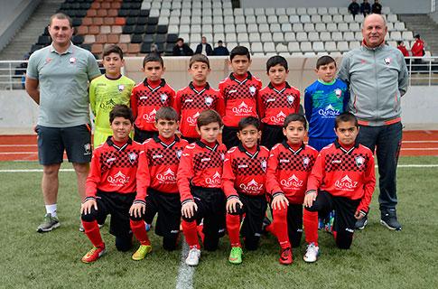 U-12 «Krasnodar»a qalib gəldi