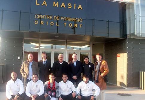 Məşqçi heyətimizin Barselona səfəri davam edir