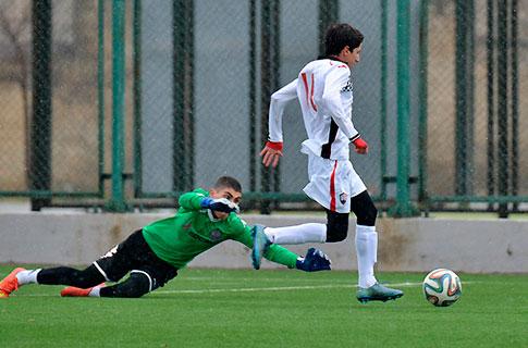 U17 took clean sheet victory by nine goals