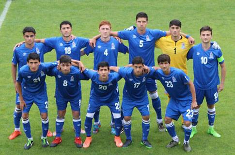 Five Gabala young footballers joined up with national U17