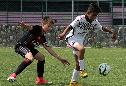 U13 came on first leg in Italy