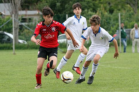 U13 ended in two draws in Italy