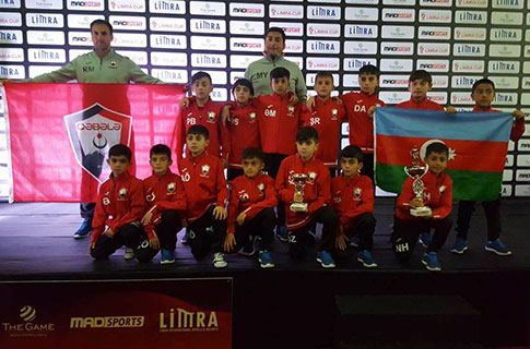 U11 finished Limra Cup second