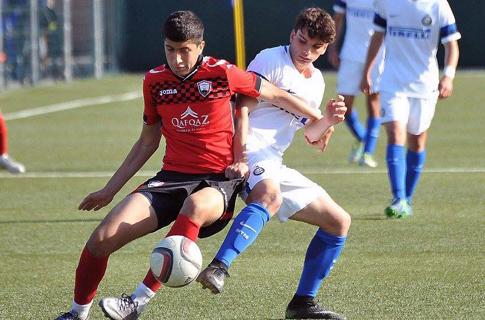 U16 started to Vitali Dareselia Tournament with Inter
