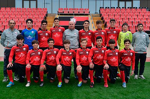 U16 took high-scoring win on Turan