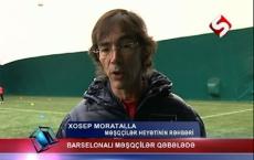 Barselona coaches in Gabala - VİDEO
