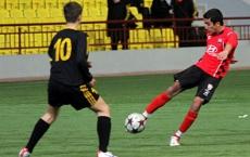 U15 beating Brugge 2-0