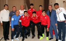 U17 members highlighted on their success in Europe- Photogallery
