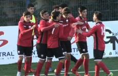 Two Gabala youth teams hitting cup