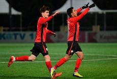 U19 won cleansheet by eight goals