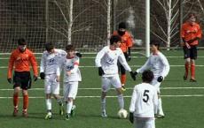 U-15 won 4-0 over Shakhtar