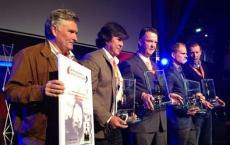 Stanley Brard gets Rinus Michels Award