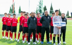 U-15 finished in 4th place in Ukraine